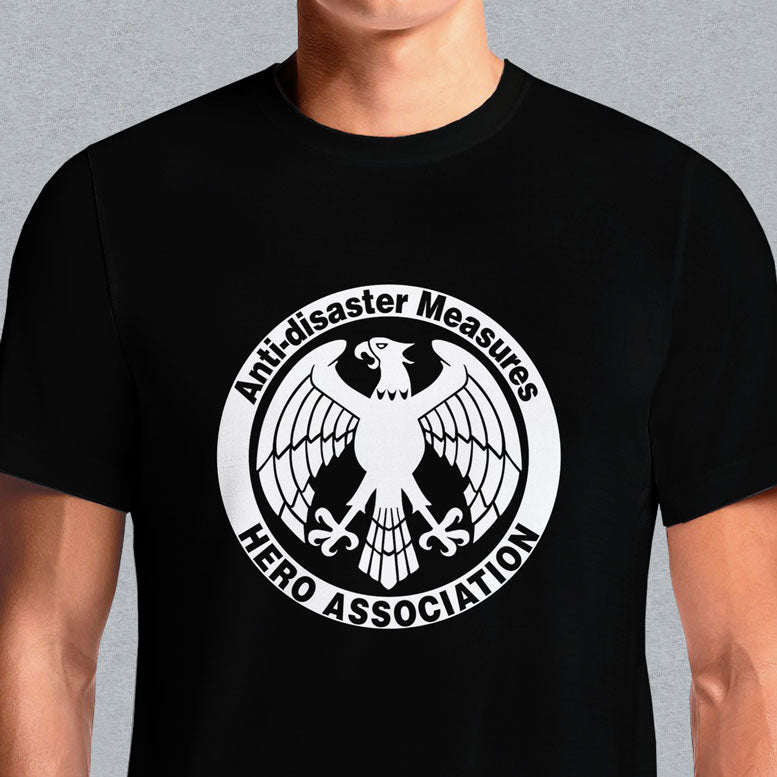 Anti-Disaster Measures Heroes Association One Punch Man T Shirts India. Shop Anti-Disaster Measures Heroes Association One Punch Man t-shirts. One Punch Man Saitama Anime Manga OK Funny OPM Hero Unisex Mens Tee Crew T-Shirt One Punch man Anti Disaster measures HERO ASSOCIATION anime T shirt. One Punch Man Anti Sleeve Length Short Sleeve.