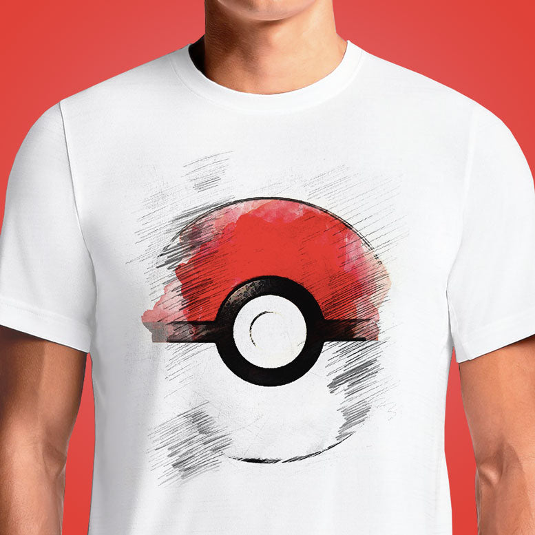 Pokeball pattern t-shirt - pokemon - ball- anime - gaming - clothing - unisex ... Video Game Inspired T-shirt 8bit Gaming Tshirt 8-Bit Retro Videogame Tee Pattern. Buy Pokemon tshirts Pikachu Pokemon Ball Classic Cool Funky Half Sleeves T-shirts online . Buy Pokeball Pokemon Trainer T-Shirts | OSOMWEAR Men's T-Shirt India