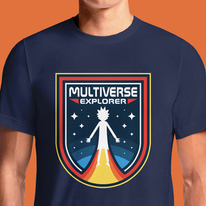 Absolute Cult Rick and Morty Multiverse Run T-Shirt | OSOMWEAR
