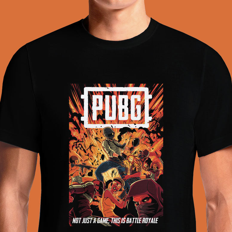 PUBG Boom T Shirts India Graphic Printed T-Shirt for Men & Women. Buy PUBG T shirts Online in India. Be Unique. Shop PUBG T shirt that are the highest quality PUBG Tees on the internet. Battlegrounds Winner Winner Chicken Dinner Pubg Men's T-Shirt Straight Outta Pochinki Premium T-Shirt.