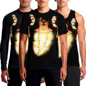 Black Adam DC Vintage T-Shirts For Sale India Online 80s Tee