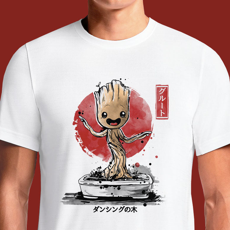 Bonsai Groot https://osomwear.in/products/bonsai-groot-comics-tv-movies-t-shirts-india Looking for the perfect i am groot t shirt? You can stop your search and come to OSOM, where designers around the world express their creativity!