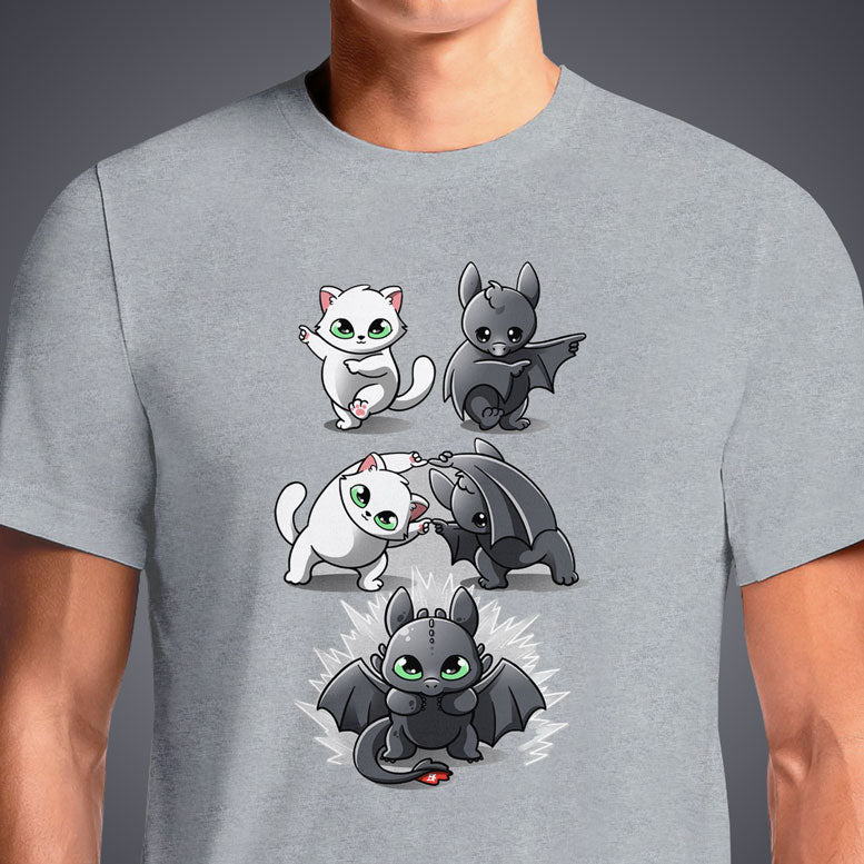 Toothless Night Fury T-Shirt | Official How To Train Your Dragon Tee