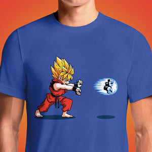 "Buy Super Saiyan Son Goku ""Air Goku"" Dragon Ball Z Mens T-Shirt. Dragon Ball Z Goku T-shirt. In Stock. Prove you've got what it takes to fight any challenge with this tee. Goku's not backing down, so why should you?Super Saiyan Son Goku ""Air Goku"" Dragon Ball Z Mens T-Shirt."