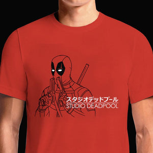 Deadpool Studio T-Shirts India Funny Quotes T Shirts Online Shopping Graphic Funky Printed Cool Tees For Mens Slogan Womens Clothing Casual Round Neck