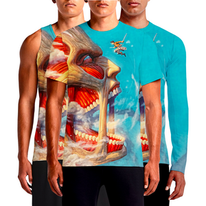 Buy Attack On Titan T-Shirt, Tank Top & Full Sleeves Biggest Hit in Modern Manga Anime Series Hajime Isayama's Attack On Titan Anthology' Unites Manga And Western Comics Artists. Movies, Video games and more spinning off from the original. #attackontitan