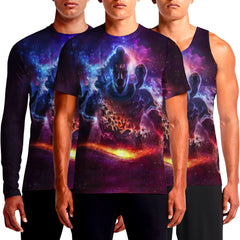 Buy Shiva T Shirts Online India Shirt Shopping Lord Boom Printed T-Shirt Cool Graphics God Wrath Of Mens On Trance Graphic Print T-Shirts Om Shakti Cosmic OSOM