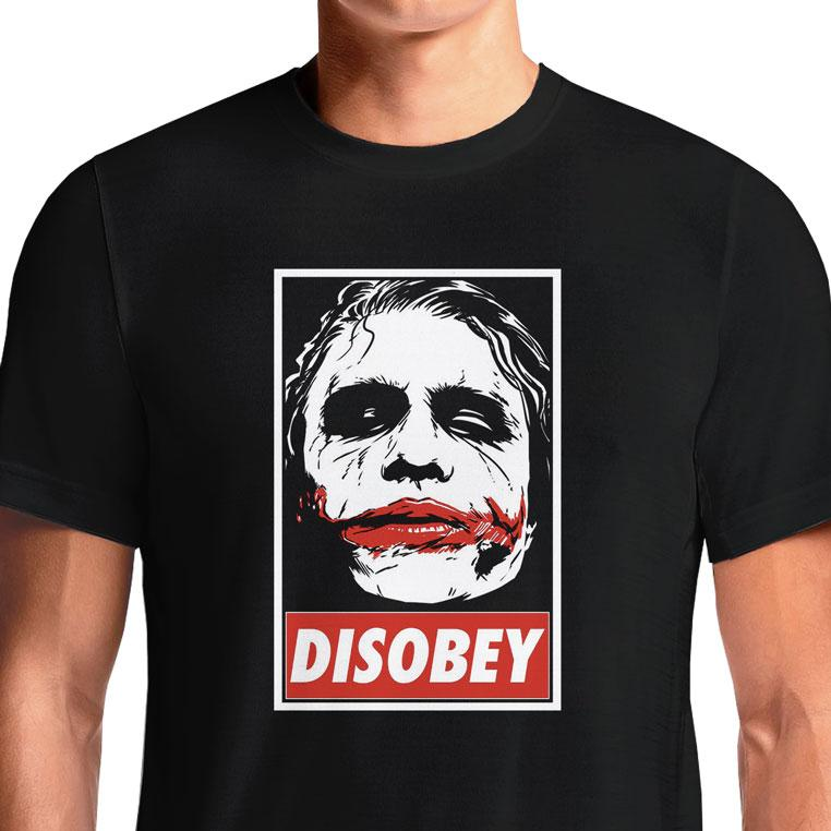 Joker Heath T-Shirts India Funny Quotes T Shirts Online Shopping Graph