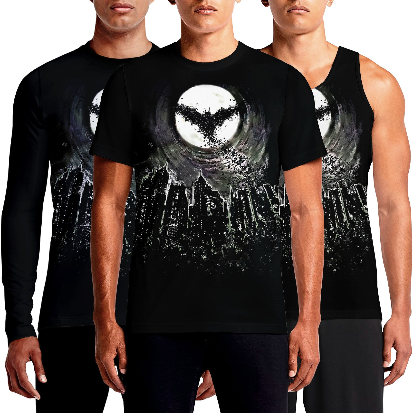 Black t shirt online design - Batman T Shirt Joker T Shirts India Dark Knight Shirt Online White Black Printed Arkham