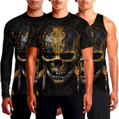 Pirates Of The Caribbean Dead Men Tell No Tales Mens T-Shirt India Online Skull T Shirts Men's Shirt Tee Designs T-Shirts For Sale With Anchor Bones Crossbones