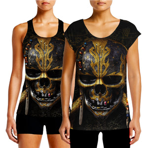 5bc6065fea4af Buy Womens Pirates of the Caribbean 5 T Shirt Dead Men Tell No Tales Get  Cool