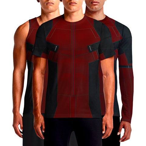Buy Superhero Costume T-shirt Online in India Batman Superman vs Anit-Hero Deadpool Shirt with Venom vs Toxin vs Punisher Costumes T-shirts Full Sleeves, T Shirt Mens Online Shopping Look Good
