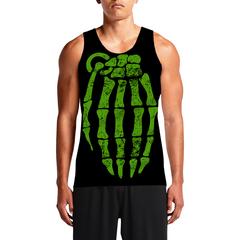 Gernade / Guys Tank TopsGet Best Men Custom Top New Styles Custom Muscle Tanks OSOM WEAR