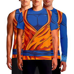 Buy Goku T Shirt in India Online Shop Dragon Ball Z Shirts For Cosplay Goku Gym T Shirts India Sleeveless and Full Sleeves For Mens Workout Buy Cheap Online Printed Fit Inspiration T-Shirts Cool Dri Fit Sleeve Long Shirt