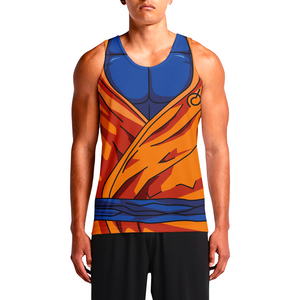 Goku Super Saiyan God Blue Men's Tank Tops Buy Tank Tops In India Online For Guys. Mens Printed Tank Tops Online Cheap Male Gym Combo Long Loose In India by OSOM