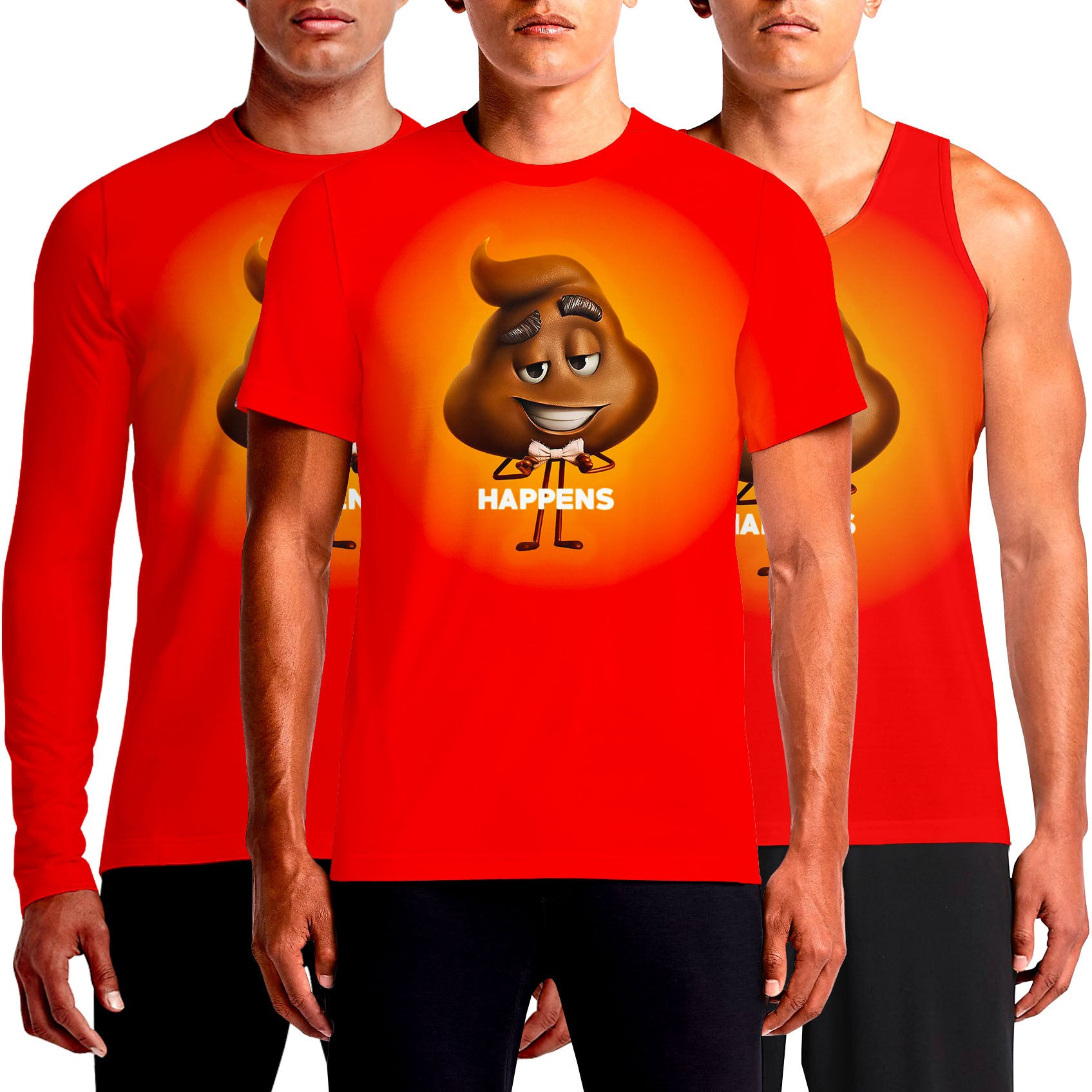 Emoji T-Shirts India For Sale Online T Shirt Buy Red Funny T-Shirt Custom Shirts Cheap Cool Design Emoticons Eyes Heart Face Poop Print Shop Smirk Smiley Shrug