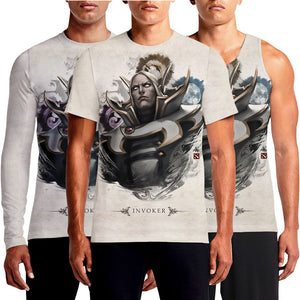 Invoker Hero Dota 2 T Shirts India Online Buy Official Store Printed Shirt For Sale Customize Digital Tshirt Jinx Logo Print Sniper Sven Secret Team Valve