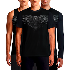 This isn't a dream, the new Game of Thrones Three-Eyed Raven T-shirt is really here. The awesome raven tshirt is the perfect companion to guide you through...