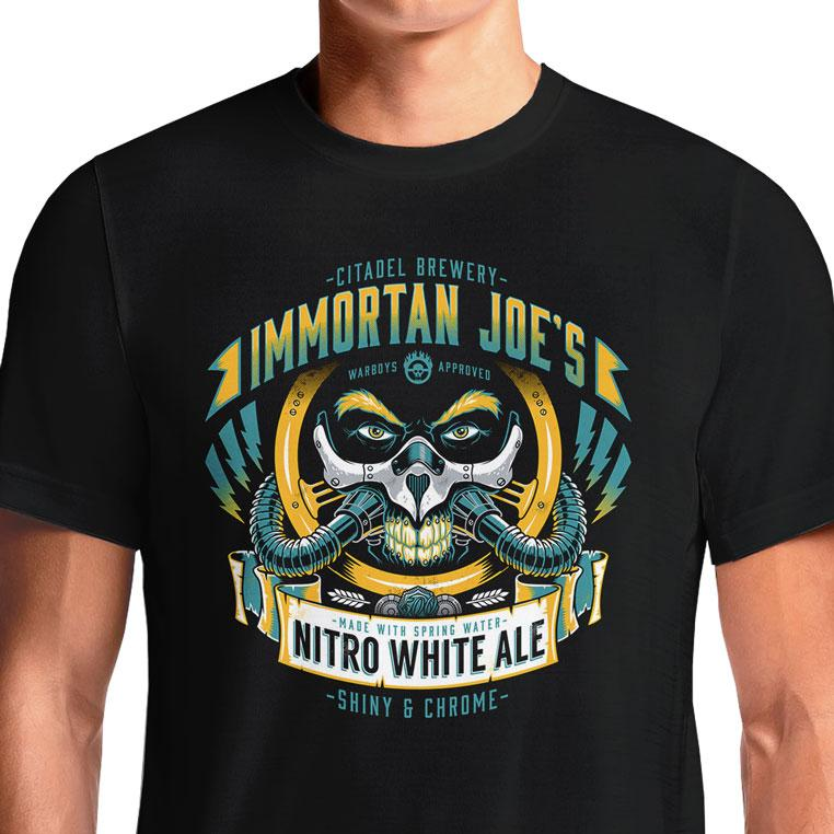 Mad Max Immortan Joe T-Shirts India Funny Quotes T Shirts Online Shopping Graphic Funky Printed Cool Tees For Mens Slogan Womens Clothing Casual Round Neck #madmax #wasteland warriors #villain #furyroad #madness #movies #immortan joe