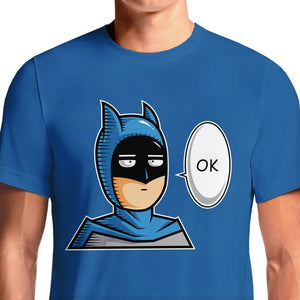 One Punch Man Batman T-Shirts India Funny Quotes T Shirts Online Shopping Graphic Funky Printed Cool Tees For Mens Slogan Womens Clothing Casual Round Neck #one punch man #manga #anime #meme #otaku #saitama #japan #kawaii #batman