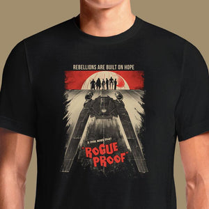Death Proof Star Wars Rogue T-Shirts India Funny Quotes T Shirts Online Shopping Graphic Funky Printed Cool Tees For Mens Slogan Clothing Casual Round Neck