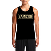 SAMCRO / Guys Tees - Sons of Anarchy Motorcycle Club Redwood Original. SAMCRO print in the front and The Reaper print at the back. See for yourself! Workout Men Awesome t-shirts