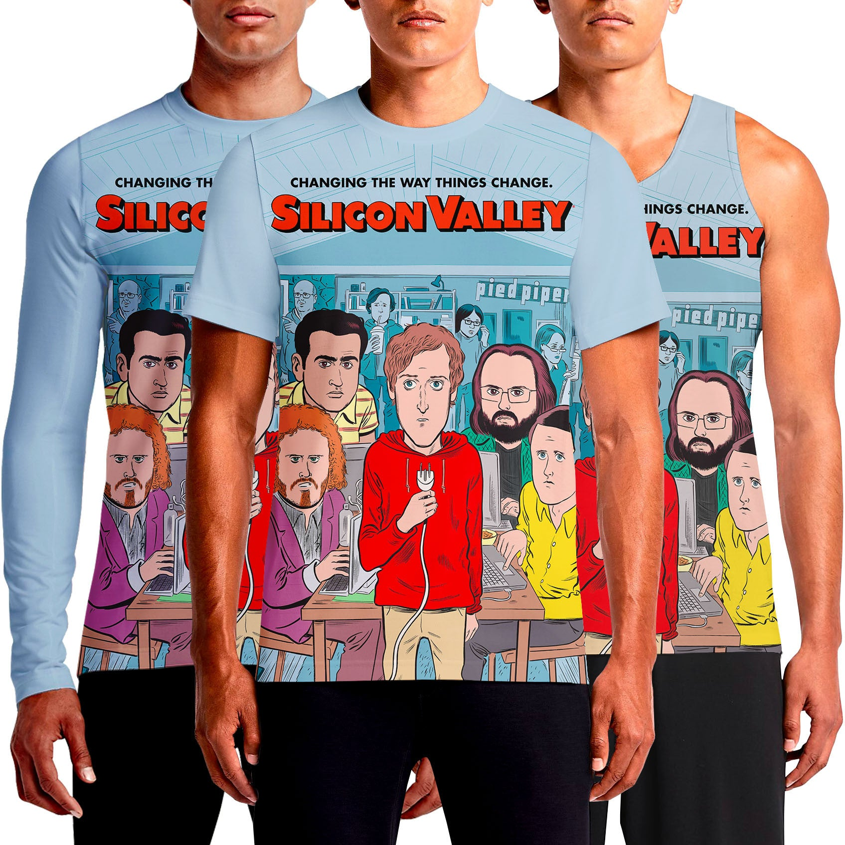 Silicon Valley T-Shirt Binary T Shirt India Shirts Aviato Bitcoin Html Comic Con Code Erlich HBO On Pied Piper Show Season 2 Tv Tv Show T-Shirt T-Shirts Online