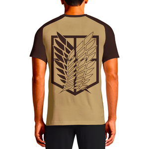 Our t-shirts shows The Survey Corps (調査兵団 Chōsa Heidan, Scout Regiment. Cool Graphic Tee Designs of Attack on Titan, Shingeki no Kyojin Mens Clothing India OSOM