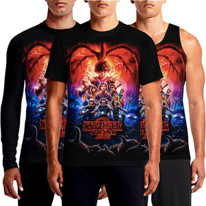 Stranger Things T Shirt Official Merchandise Mens Cool Season 2 Release Watch Online All Episodes Board Game Creature Costume Ghostbuster T Shirt India OSOMWEAR