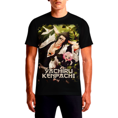 YACHIRU-KENPACHI BLEACH anime printed t shirts india custom online photo where can i buy action figures stuff in cebu guitar hero sheet music uae black bird manga merchandise cheap canada hawaii no minimum shirt rags t-shirts wholesale cape town