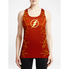 Flash / Girls Tank Tops - Newly added clearance items! Graphic Custom Designer sleeveless
