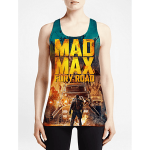 Mad Max / Girls Tank Tops - Newly added clearance items! Graphic Custom Printing tank-top