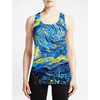 Starry Night  / Girls Tank Tops - I got chills when I saw this tee Must Have Cool Printing tank top