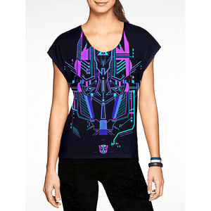 Optimus Prime / Girls Tees - Finally, a coat of arms for gamers! Buy Hot Cool Funny t.shirts