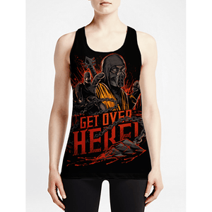 Scorpion / Girls Tank Tops - See for yourself! Workout Women Anime tshirts