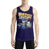 Bat To The Future / Guys Tank Tops - Get the scoop on saving 20%! Get Best Men Designer sando