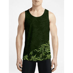 Cannabis / Guys Tank TopsMust Have Boys Fashion Tank Top Must Have Guy Fashion Tank-Top OSOM WEAR