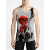 Control / Guys Tank Tops - Flash Sale New Styles Guys Anime top