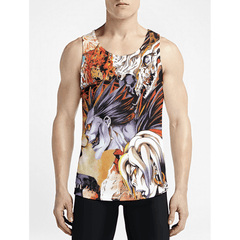 Death Note / Guys Tank TopsBuy Hot Gym Muscle Tank Tops Buy Hot Mens Trippy Tanks OSOM WEAR