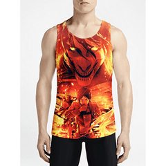 Eren Jaeger / Guys Tank TopsShop Online Men Trippy Tanks Shop Online Guy Trippy Tank Tops OSOM WEAR