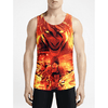 Eren Jaeger / Guys Tank Tops - Flash Sale New Styles Mens Printing top