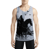 Grim / Guys Tank Tops - Finally, a coat of arms for gamers! Buy Hot Cool Designer tank tops