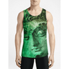 Jade Buddha / Guys Tank Tops - See for yourself! Workout Men Cool tanktop