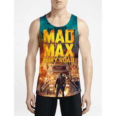 Mad Max / Guys Tank TopsGet Best Guys Custom Tank-Tops Gift NowCustom Long Tank OSOM WEAR