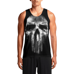 Punisher / Guys Tank TopsNew Styles Men Workout Tank-Tops Gift NowMens Trippy Tanks OSOM WEAR