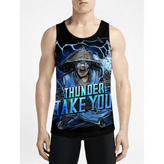 Raiden / Guys Tank TopsShop Online Mens Trippy Tank-Tops New Styles Mens Workout Tanks OSOM WEAR
