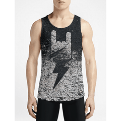 Rock On / Guys Tank TopsFind Stylish Guys Custom Tanks Must Have Guys Muscle Tank Top OSOM WEAR