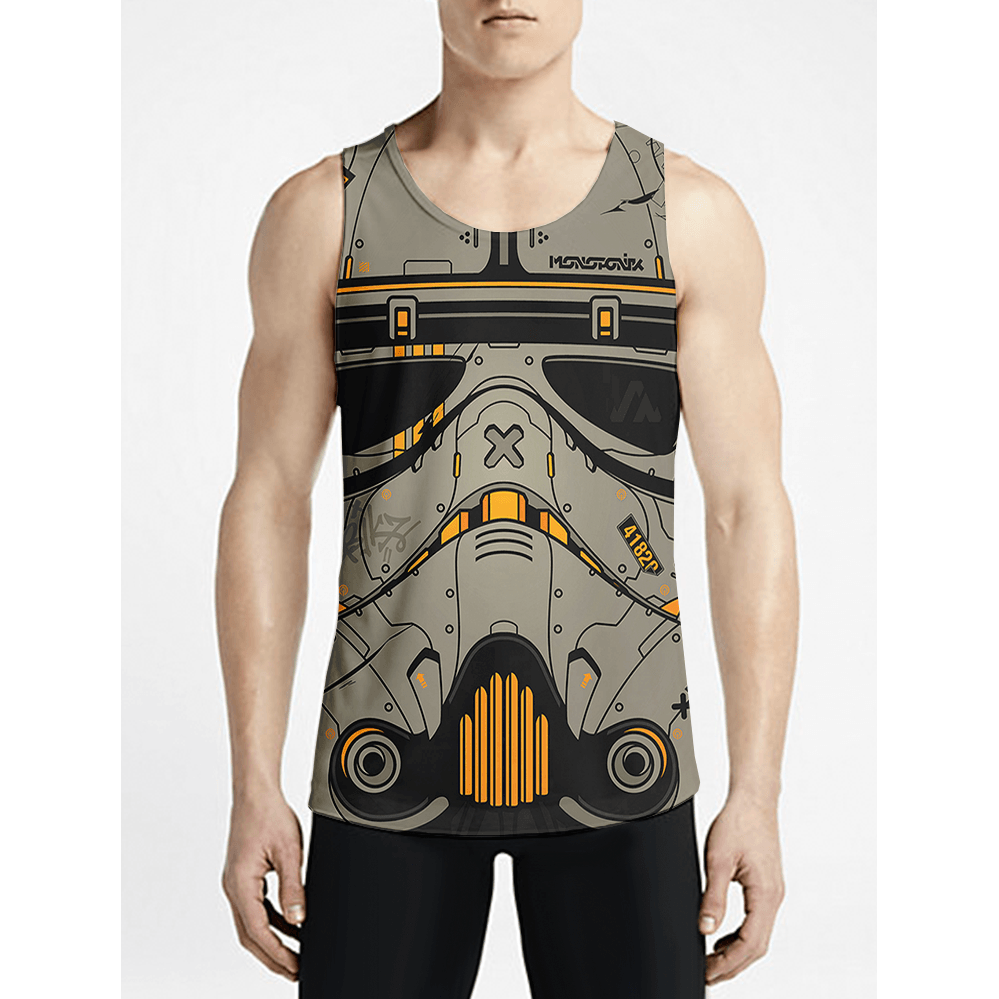 Sand Trooper / Guys Tank Tops - Newly added clearance items! Graphic Guy Anime vest