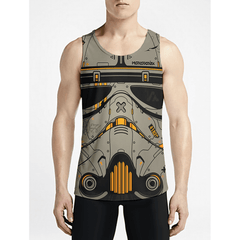 Sand Trooper / Guys Tank TopsFind Stylish Gym Fashion Tank-Tops New Styles Guys Funny Tank-Top OSOM WEAR