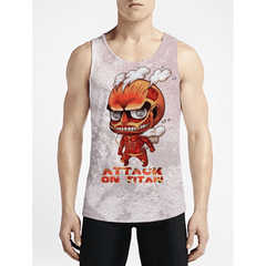 Titan / Guys Tank TopsNew Styles Mens Funny Tank-Tops Get Best Gym Trippy Tank Top OSOM WEAR